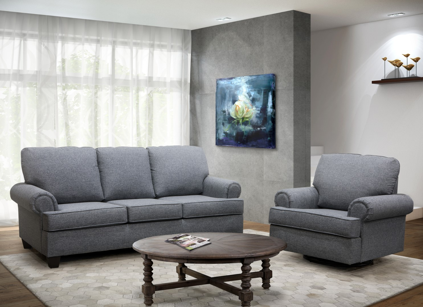 Londres 21793 Sofa Set made in Canada