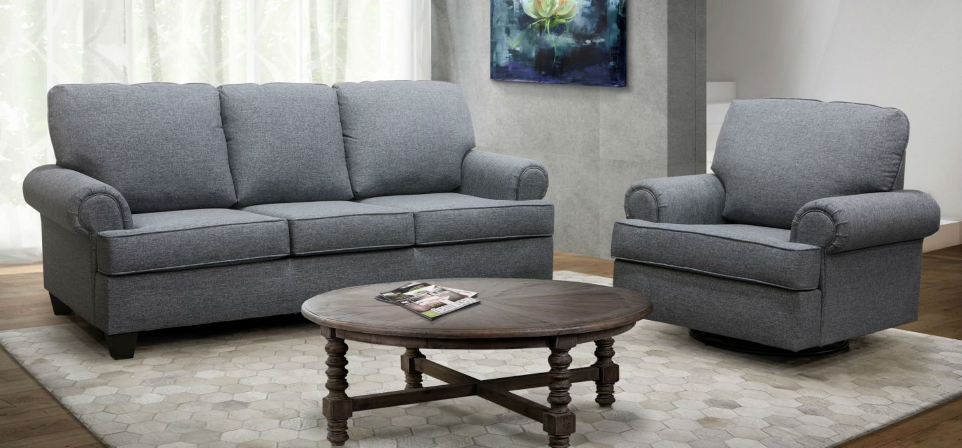 Londres Sofa Set 21793 made in Canada